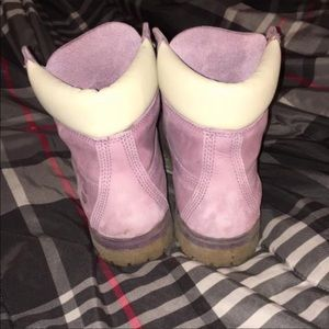 Timberland Shoes - W10 Pink Timberlands 😋